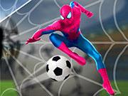 SuperHero Spiderman Football Soccer League