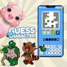 Guess the Character Word Puzzle