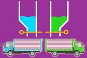 Color Water Trucks