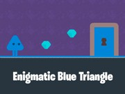 Enigmatic Blue Triangle