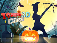 Zombie Clash 3D: Halloween